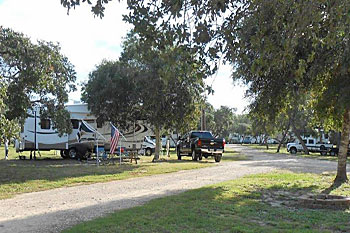 Hidden Oaks Rv Resort In Rockport Lamar Texas